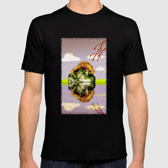 Reflect upon yourself on a rainy day  T-shirt