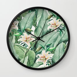 Tropical state Wall Clock
