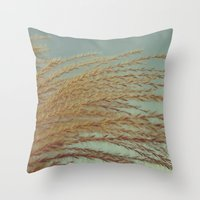 terry fan Throw Pillows featuring Fan... by belkat