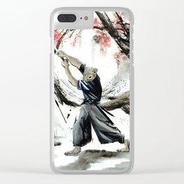 47 Furious Tails Art by: Alexia Veldhuisen Clear iPhone Case
