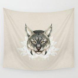 Bobcat Wall Tapestry