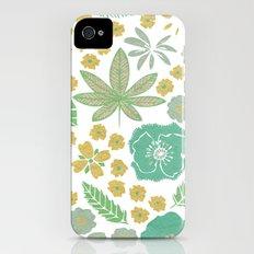 Floral Bloom  iPhone (4, 4s) Slim Case