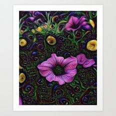 :: Menagerie :: Art Print