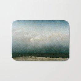 The Monk by the Sea by Caspar David Friedrich 1808 Bath Mat