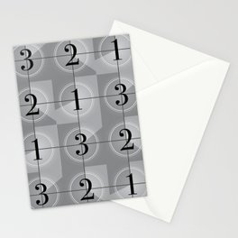 321 Cinema // Old Film Countdown Stationery Cards
