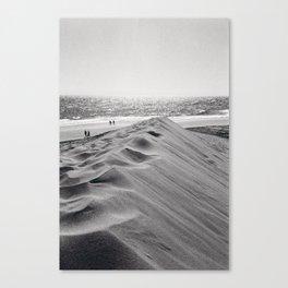 Walking the beach NO1 Canvas Print