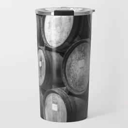 Stacked Barrels Travel Mug