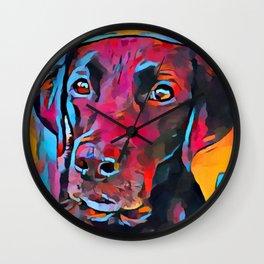 Labrador Retriever 8 Wall Clock