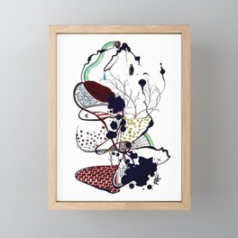 The Garden Framed Mini Art Print