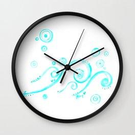 Element: Ocean Wall Clock