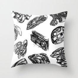 Rune Catchers Throw Pillow
