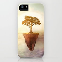 Floating tree iPhone Case