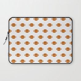 Texas longhorns orange and white university college texan football pattern Laptop Sleeve