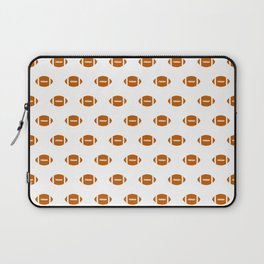 Texas longhorns orange and white university college texan football pattern Laptop Sleeve