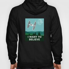 I WANT TO BELIEVE - Star Wars Hoody
