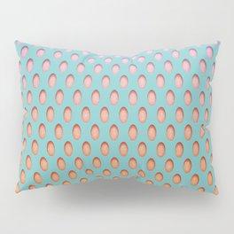 Elongated Holes2 Florida Green Pillow Sham