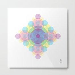 Colormoon Metal Print
