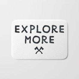 Explore More Quote Black and White Bath Mat
