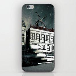 Citroen XM noir art in Paris iPhone Skin