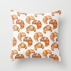 Croissant Collection Throw Pillow