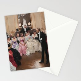 Jean Beraud - The Monologue Stationery Cards