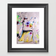 Outline Framed Art Print
