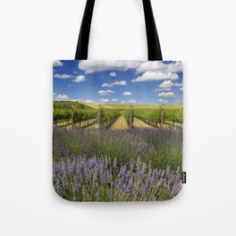 Countryside Vinyard Tote Bag