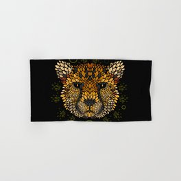Cheetah Face Hand & Bath Towel