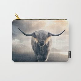 highland cattle scotland Carry-All Pouch