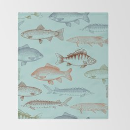 Fishes Throw Blanket