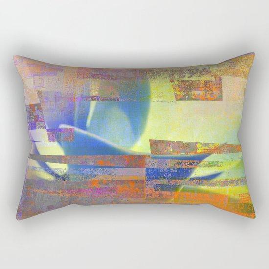 quiet agave Rectangular Pillow