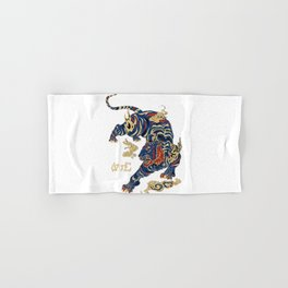 Chinese tiger Hand & Bath Towel