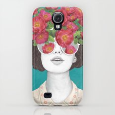 The optimist // rose tinted glasses Galaxy S4 Slim Case