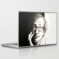 woody allen Laptop & iPad Skins featuring Woody Allen by Frances Roughton