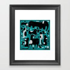 ANIMAL PATTERN Framed Art Print