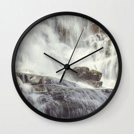 Moses Falls Wall Clock