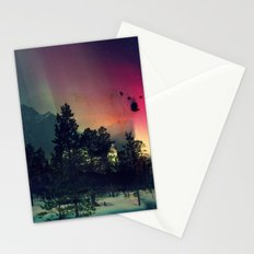 Polar Bar Nebula Stationery Cards