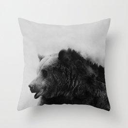 Big Bear #4 Throw Pillow