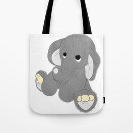 Stuffed Elephant Tote Bag