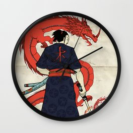 Ronin and Dragoon Wall Clock