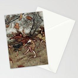 """""""Autumn Fairies"""" by Arthur Rackham Stationery Cards"""