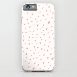 Little Hearts Everywhere iPhone Case