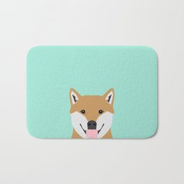 Cassidy - Shiba Inu gifts for dog lovers and cute Shiba Inu phone case for Shiba Inu owner gifts Bath Mat