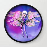 artpop Wall Clocks featuring ARTPOP by Bach