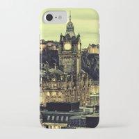 edinburgh iPhone & iPod Cases featuring Edinburgh by EclipseLio