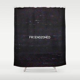 FRIENDZONED Shower Curtain