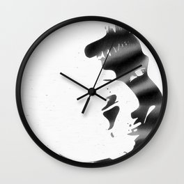 Gotham Noir: Son of Laughter (Inverted) Wall Clock