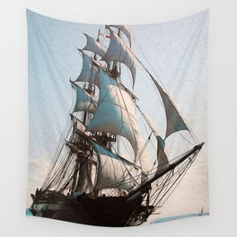 Black Sails Wall Tapestry