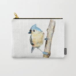 Tufted Titmouse by Teresa Thompson Carry-All Pouch