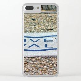 Walk The Riverwalk Clear iPhone Case